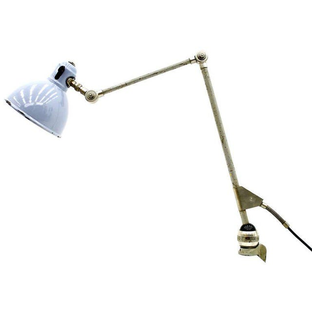 Studio Table Lamp b.a.g Turgi, Switzerland, 1940`s For Sale - Image 9 of 9