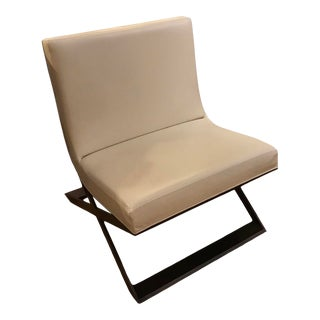 Ralph Pucci Leather Chair For Sale