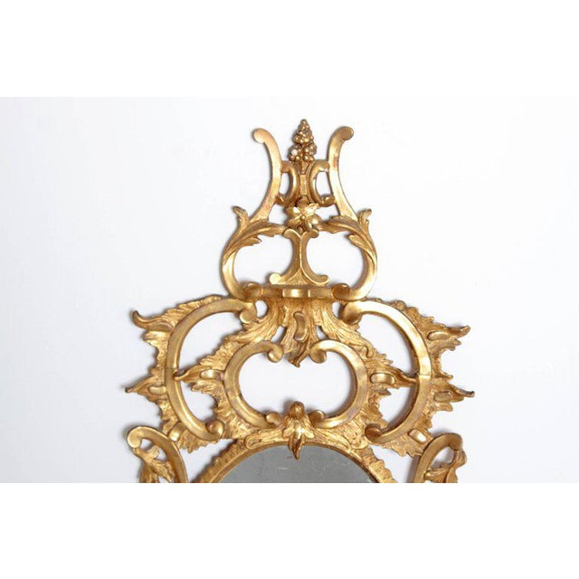George III Chippendale Style Pier Glass Mirror For Sale - Image 11 of 13