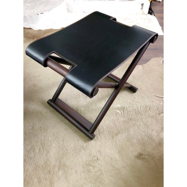 Christian Liaigre Bazane Stool for Holly Hunt (30 Available) For Sale - Image 12 of 12