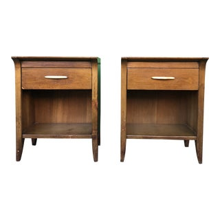 1960s Mid Century Modern Nightstands by Drexel Profile-a Pair For Sale