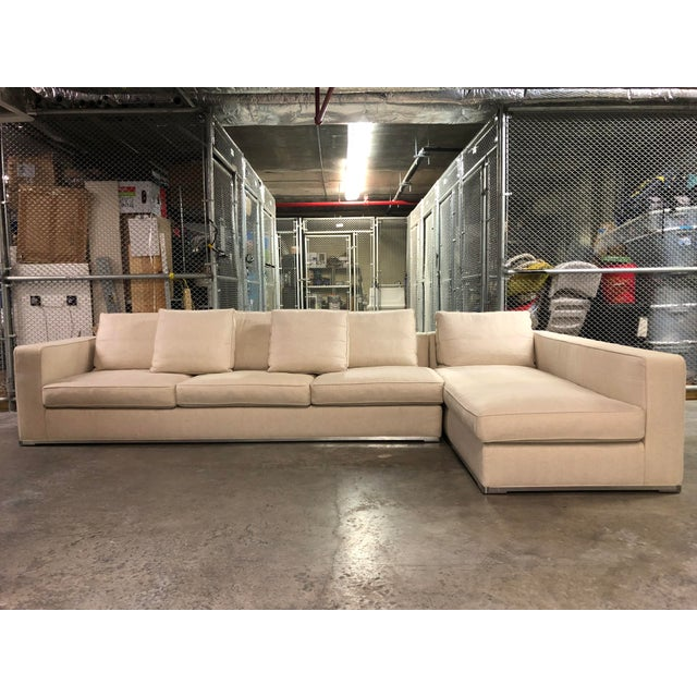 Maxalto Omnia Sectional Sofa-Extra Long For Sale - Image 13 of 13