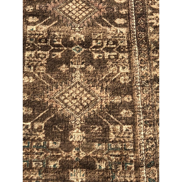 Islamic 1950s Vintage Persian Sarab Runner - 3′1″ × 10′6″ For Sale - Image 3 of 13