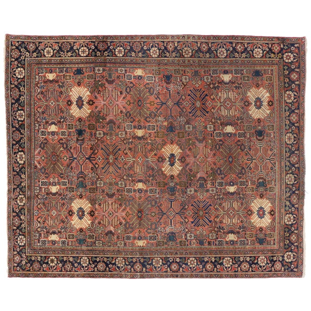 Antique Persian Mahal Rug - 10'2 x 11'10 - Image 1 of 5