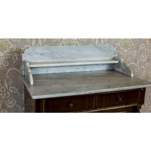 19th Century Basin Cabinet Veneer with Walnut For Sale - Image 12 of 13