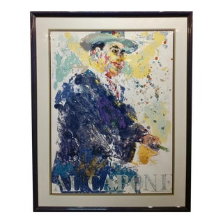 Leroy Neiman -Al Capone-Limited Edition Serigraph-Pencil Signed