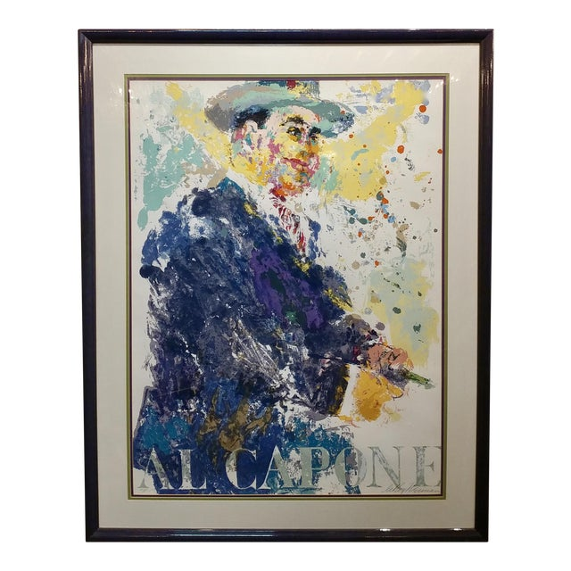 Leroy Neiman -Al Capone-Limited Edition Serigraph-Pencil Signed - Image 1 of 10