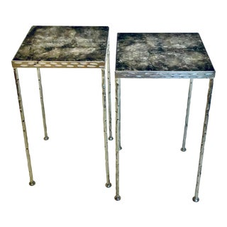 "Marjorie Skouras ""Toby Tables"" - a Pair For Sale"