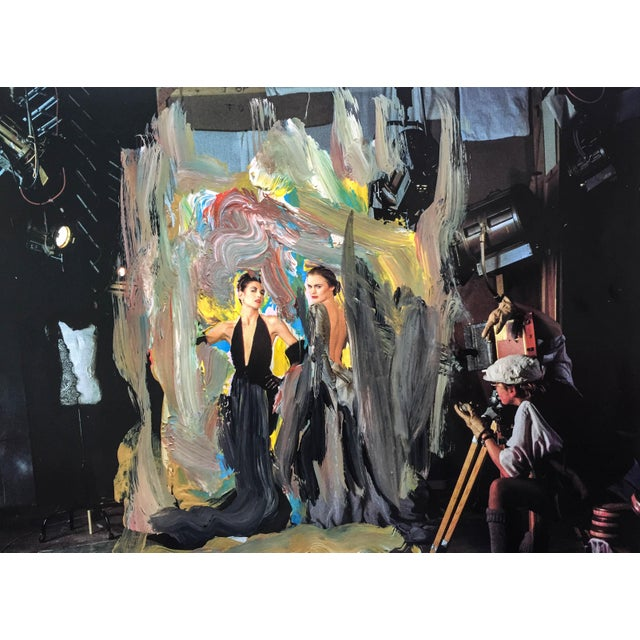 """""""The Photo Shoot"""", 7 x 6 Print of Acrylic Over Painting by Erik Sulander - Image 2 of 3"""
