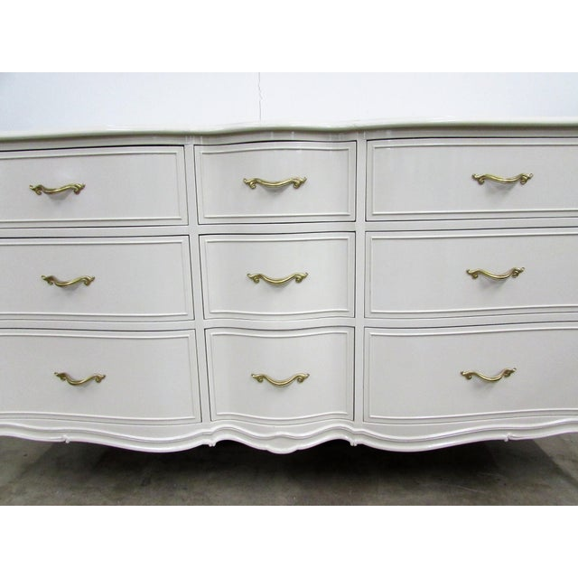 Drexel French Lacquered Chest of Drawers - Image 7 of 10