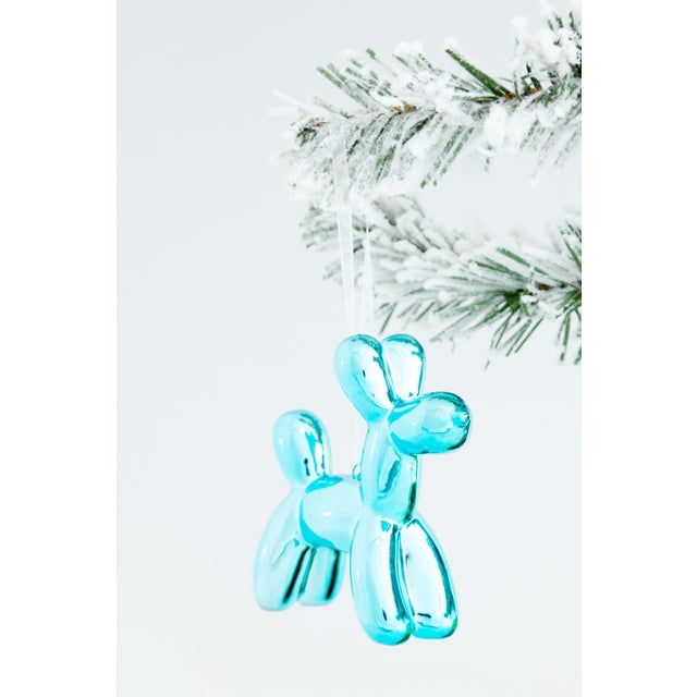 """Red Interior Illusions Plus Holiday Balloon Dog - 3.25"""" tall - Set of 6 For Sale - Image 8 of 12"""
