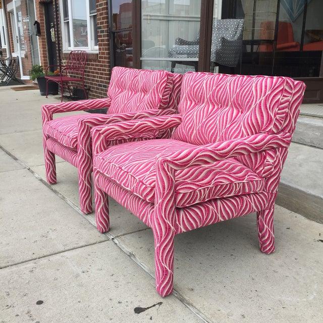 Cheetah Print Parsons Chairs. amazing best 20 parson chair covers ...