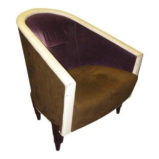 Colber International Italian Armchair For Sale