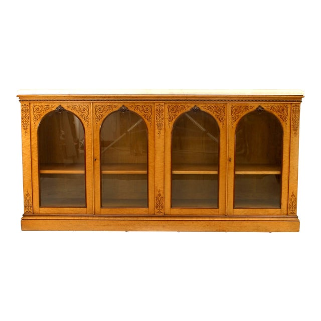 French Charles X Sideboard Cabinet For Sale