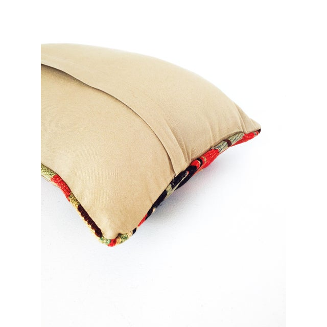 Turkish Kilim Lumbar Pillow - Image 6 of 6