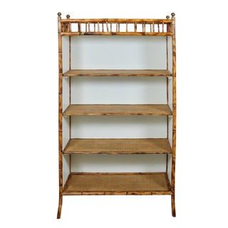Jw Custom Line Bamboo Bookcase For Sale