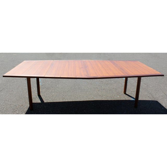 Mid-Century Modern Dunbar Expandable Dining Table For Sale In Detroit - Image 6 of 10