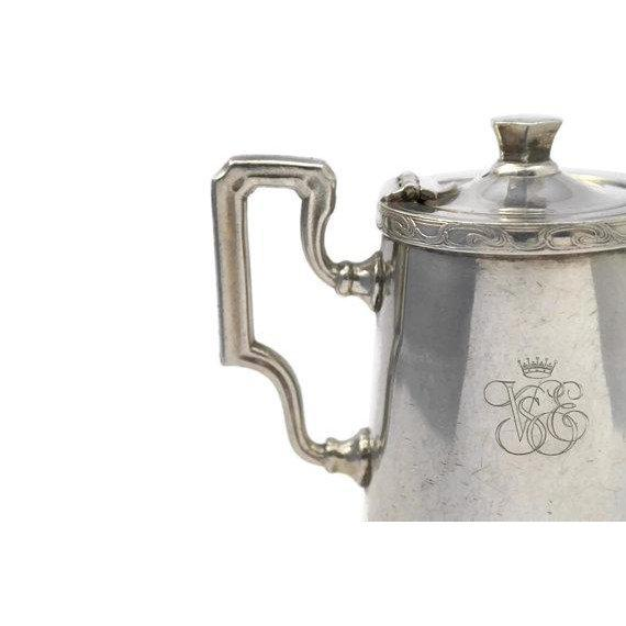 20th Century Art Deco Ercuis Silver Orient Express Coffee Pot For Sale In San Francisco - Image 6 of 9