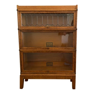 Antique Globe Wernicke Libary Bookcase For Sale
