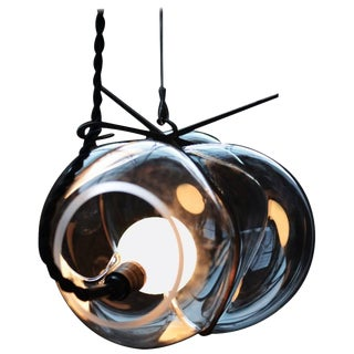 Crystal Glass Suspension, Exhale, Catie Newell For Sale