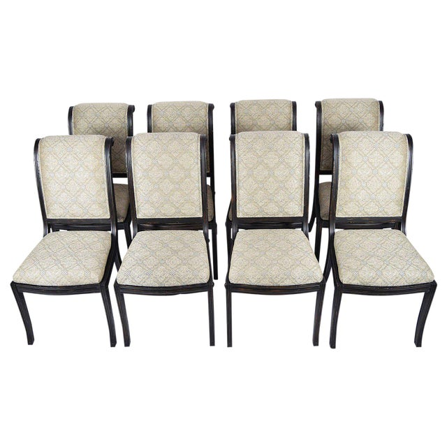 Fine Set Of Eight Fremarc Embassy Dining Chairs DECASO - Fremarc dining table