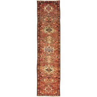 """Pasargad Ny Antique Persian Karajeh Rug - 2'4""""x10'1"""" For Sale"""
