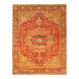 """Pasargad Serapi Wool Area Rug- 12' 0"""" X 14' 11"""" For Sale"""