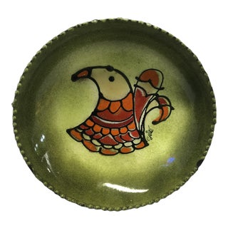 C. Jere Mid Century Modern Enameled Dish For Sale