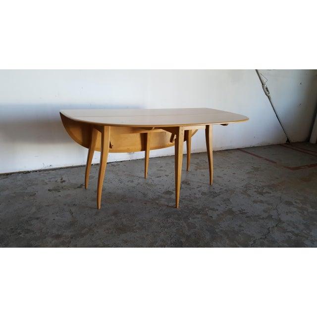 Mid-Century Heywood Wakefield Dining Table - Image 8 of 11