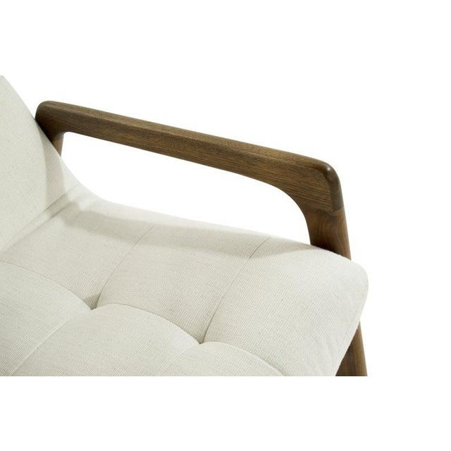 Sculptural Walnut Lounge Chairs by Adrian Pearsall for Craft Associates - a Pair For Sale - Image 10 of 13