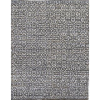 Mansour Fine Handwoven Modern Rug - 6' X 9' For Sale
