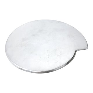 Smith Celetano Nambe 632 Spiral Tray Platter For Sale