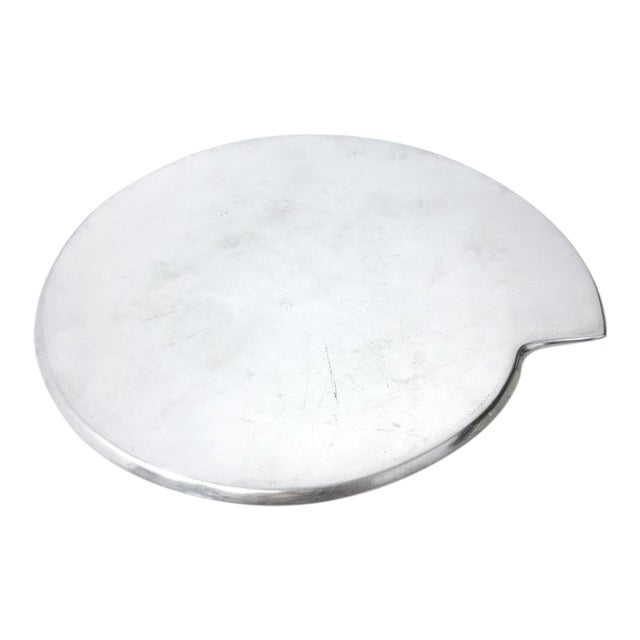 Smith Celetano Nambe 632 Spiral Tray Platter For Sale