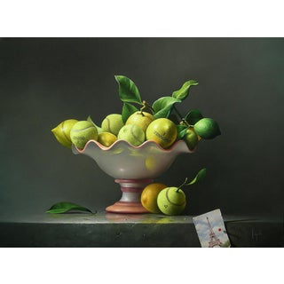 """""""French Open"""" Contemporary Still Life Giclee by Campanile For Sale"""