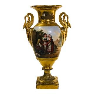 19th C. Old Paris Urn For Sale