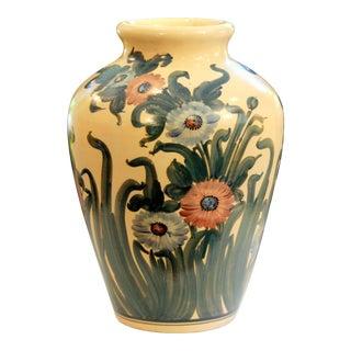 Big Rrp Co Robinson Ransbottom Roseville Garden Urn Pottery Porch Floor Vase For Sale