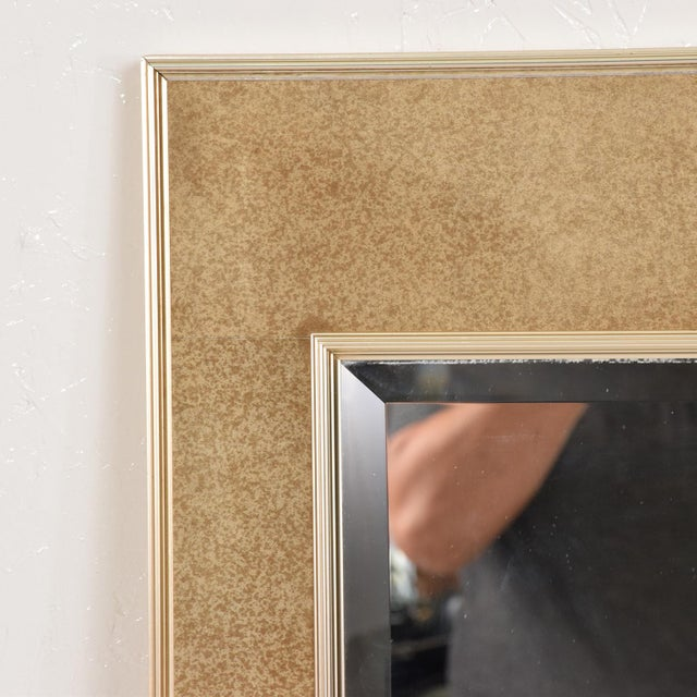 Contemporary La Barge Mid-Century Modern Wall Mirror For Sale - Image 3 of 10