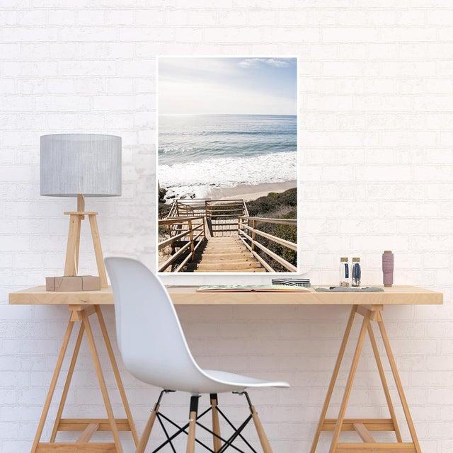 """Boho Chic """"El Matador Beach"""" Original Framed Photograph For Sale - Image 3 of 4"""