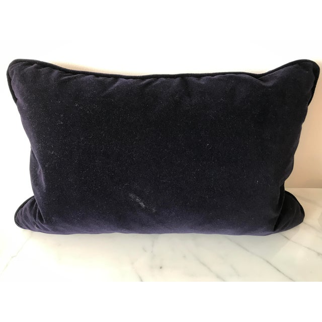 Contemporary Robert Allen Purple Velvet Pillow Cover- Sold Individually For Sale - Image 3 of 5