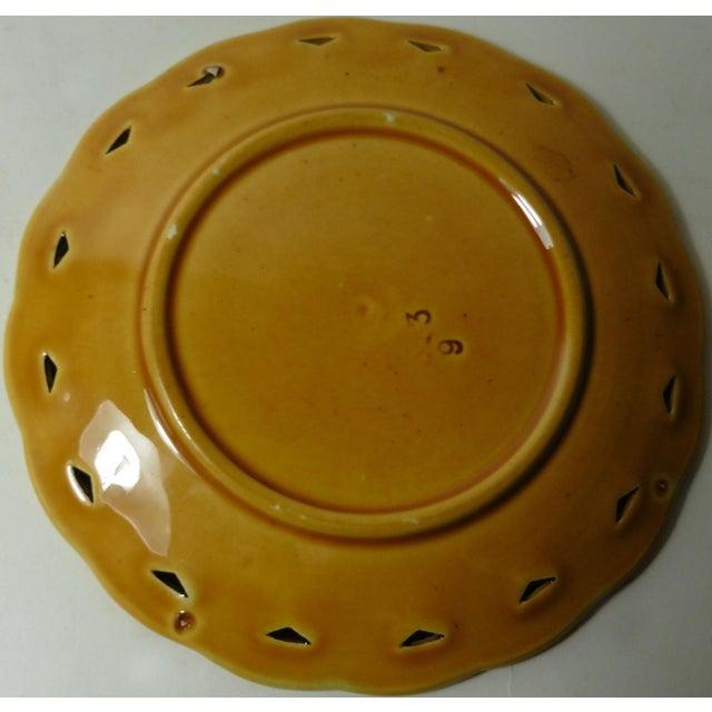 Villeroy & Boch Majolica Violets Plate - Image 3 of 3