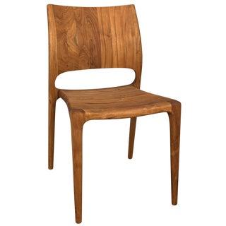 Suzu Stackable Chair, Teak For Sale