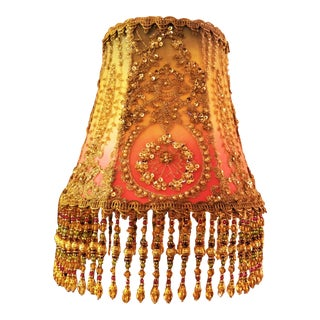Handmade Beaded Bohemian Hanging Lamp