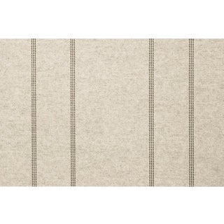 Sample, Maya Romanoff Cozy Bundle Up: Shearling/Cocoa - Woven Wool Wallcovering For Sale