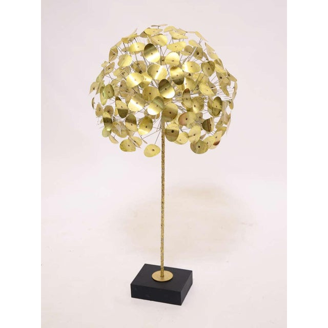 Oversize Dandelion Sculpture In Brass By Jere For Sale In Chicago - Image 6 of 9