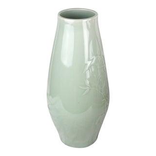 20th Century Antique Celadon Vase For Sale