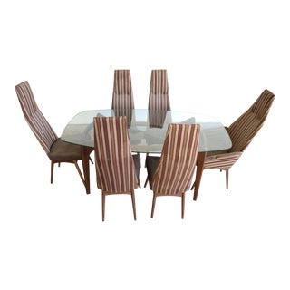 Adrian Pearsall Dining Set Table & Chairs - 7 Pieces For Sale