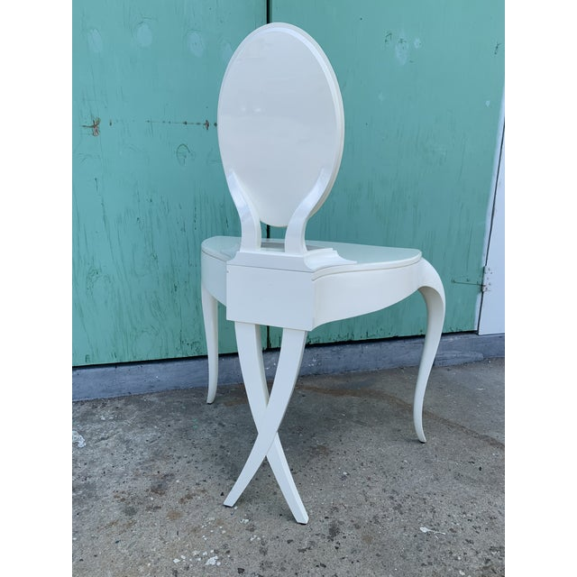 2000 - 2009 Christopher Guy Vanity Fair Dressing Table & Stool For Sale - Image 5 of 13