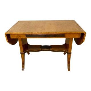 Biedermeier Fruit-Wood Sofa Table or Partners Desk For Sale