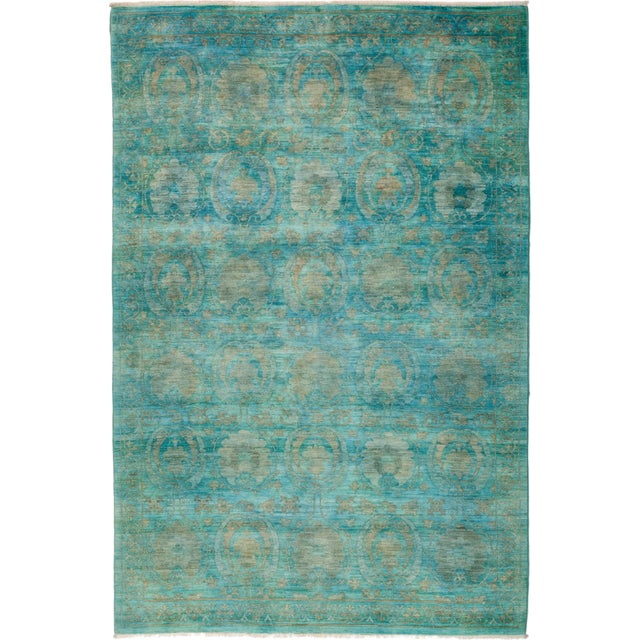 """Vibrance Hand Knotted Area Rug - 6' 2"""" X 9' 2"""" - Image 4 of 4"""