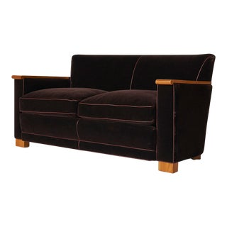 Sofa by Jacque Adnet For Sale